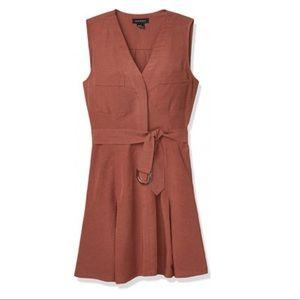 Club Monaco Day-to-Night Mini Dress Sz2 Red/Rouge